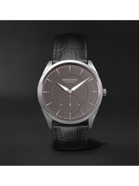 Parmigiani Fleurier_Tonda 1950 Automatic 40mm Stainless Steel and Alligator Watch_1170996_mrp_in