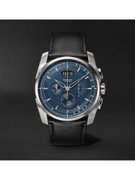 Parmigiani Fleurier_Tonda Metrographe 40mm Stainless Steel and Leather Watch_1170995_mrp_in