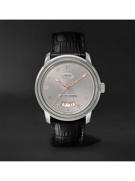 Parmigiani Fleurier_Toric Qualité Fleurier Automatic 40.8mm 18-Karat White Gold and Alligator Watch_1171001_mrp_in