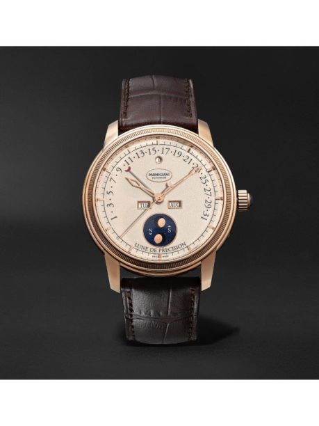Parmigiani Fleurier_Toric Quantième Perpetual Retrograde Calendar and Moon Phase Automatic 42.5mm 18-Karat Red Gold and Alligator Watch_1171002_mrp_in