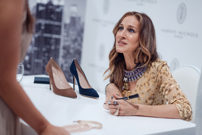 Sarah Jessica Parker Launches her Shoe Collection in Dubai ...