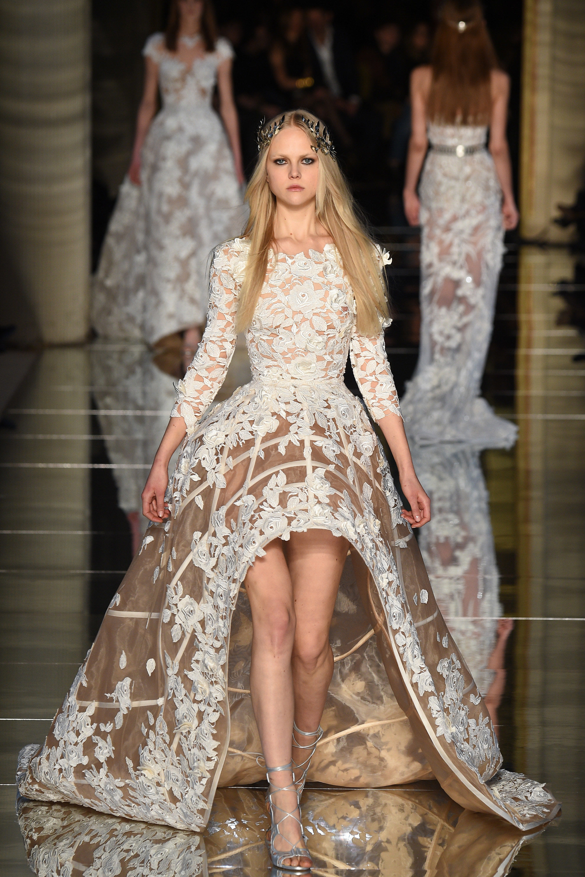 zuhair murad 39 s regal dazzling collection for haute couture