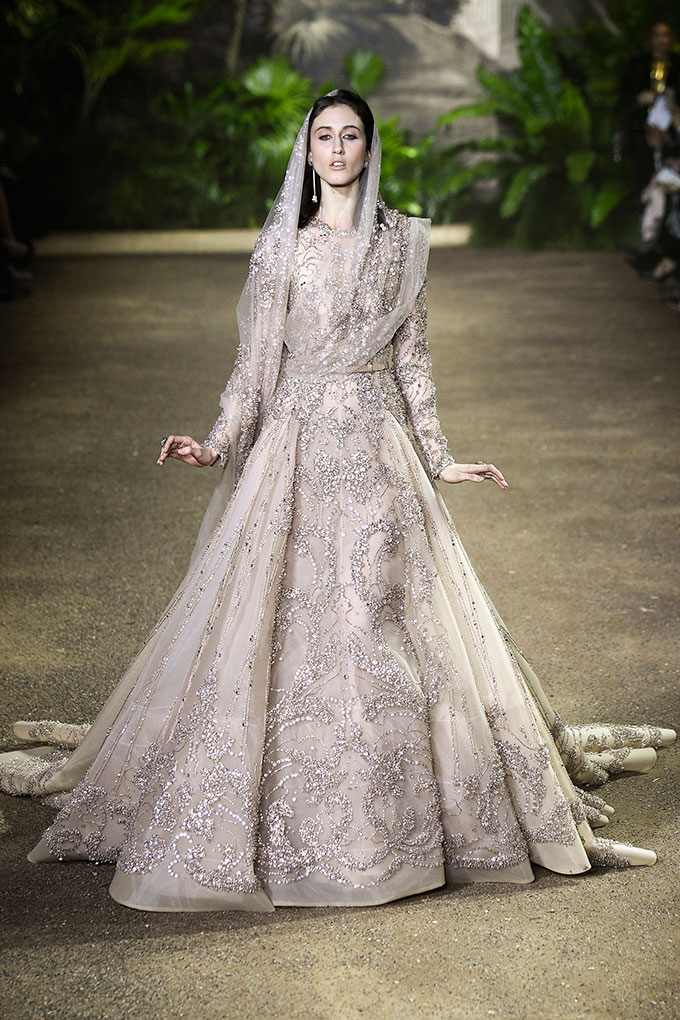A passage to India at Elie Saab\'s haute couture collection spring ...
