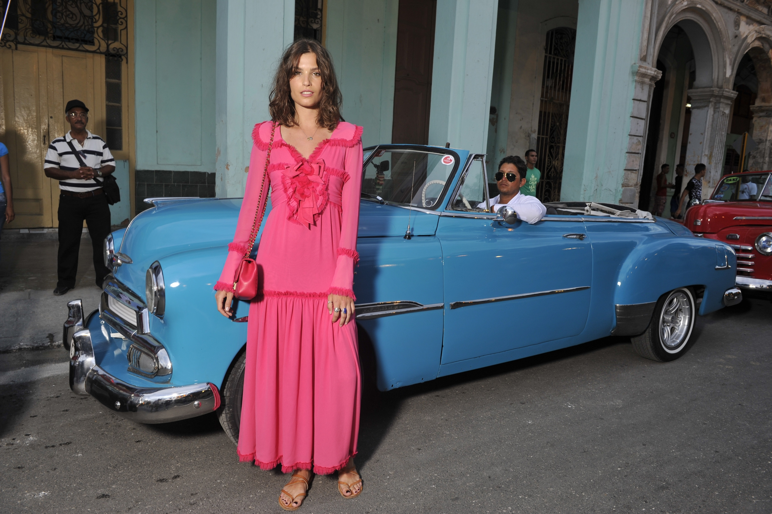 Cruise 2016-17 collection_Photocall pictures by Stephane Feugere_Alma JODOROWSKY 2