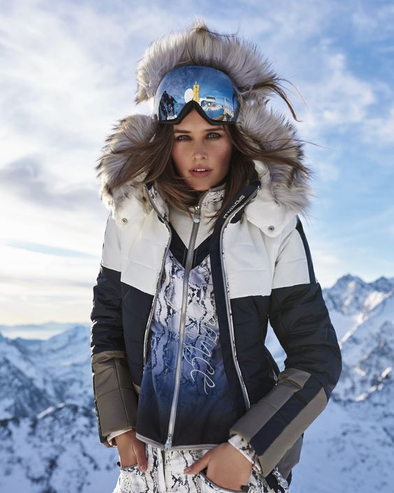 Spyder Women's Gem Faux Fur Ski Jacket, White, Size The Fusion collection was conceived to add Novelty, texture and variation to women's ski funon.ml jackets first and foremost, the collection is inspired by the street so fabrics were chosen to be stylish off the mountain as well. more.