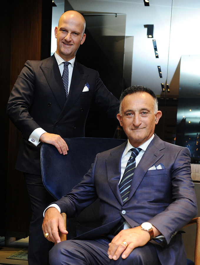 Giuseppe and Andrea Santoni