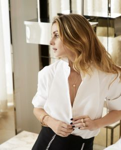 Olivia Palermo for Piaget NET-A-PORTER Gold. Piaget makes its debut at Net-a-Porter