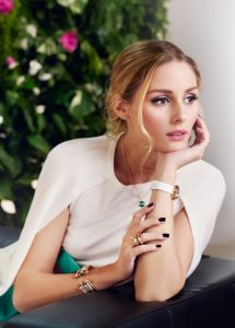 Olivia Palermo for Piaget NET-A-PORTER Green Malichite. Piaget makes its debut at Net-a-Porter