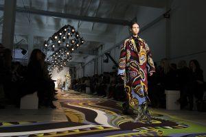 Image: FW17 Emilio Pucci runway show