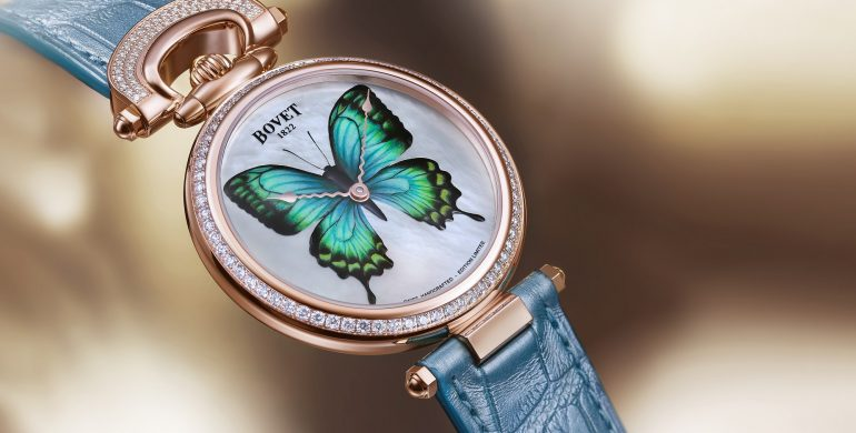 Bovet 1822 unveils a luminescent world premiere with its new collection