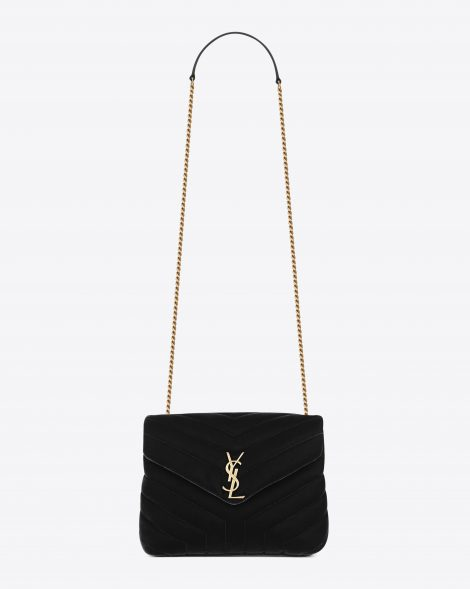 Now In Stores Saint Laurent S New Loulou Monogram Bag