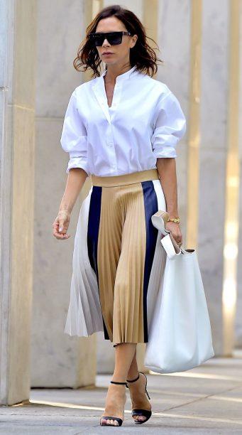 With Midi-Skirt