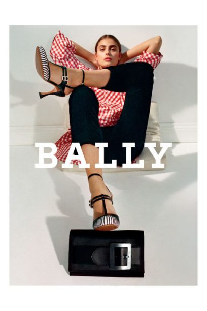 Taylor Hill for Bally AW17