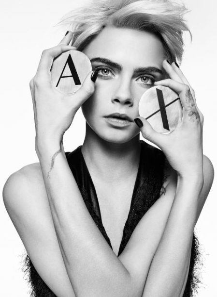 .Cara Delevingne for Armani Exchange AW17