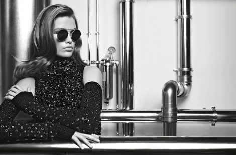 Luna Bijl for Chanel Eyewear