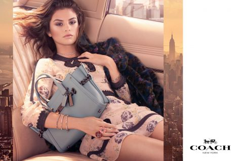 Selena Gomez for Coach AW17