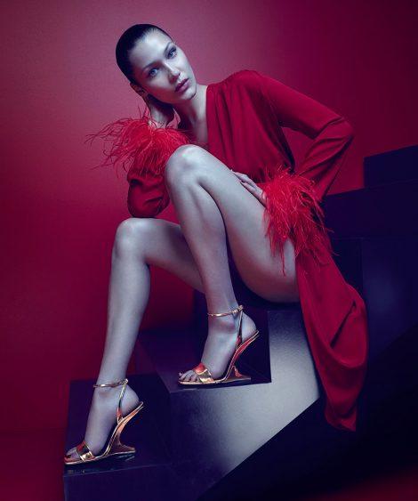 Bella Hadid for Giuseppe Zanotti AW17