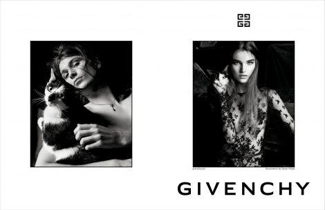 Meghan Roche & Kolton Bowen for Givenchy AW17