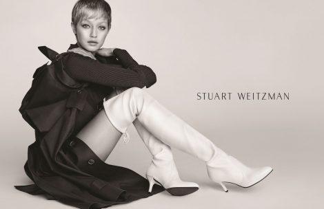 Gigi Hadid for Stuart Weitzman AW17