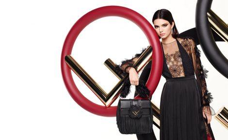 Kendall Jenner for Fendi AW17