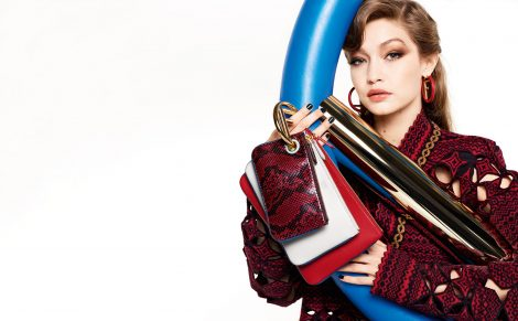 Gigi Hadid for Fendi AW17