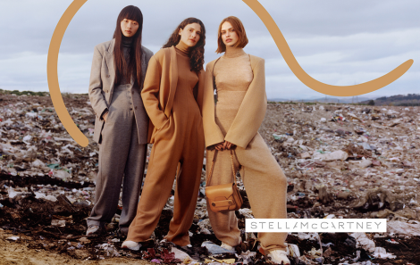 Brigit Kos, Iana Godnia and Huan Zhou for Stella McCartney AW17