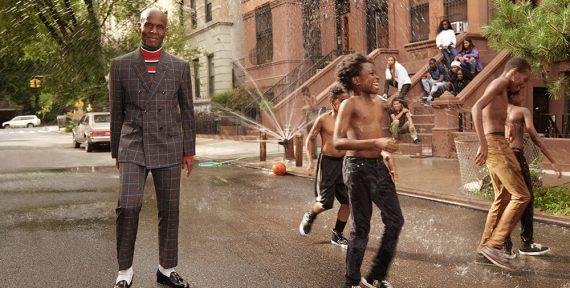 Gucci Cruise 2018 Men's Campaign dapper dan