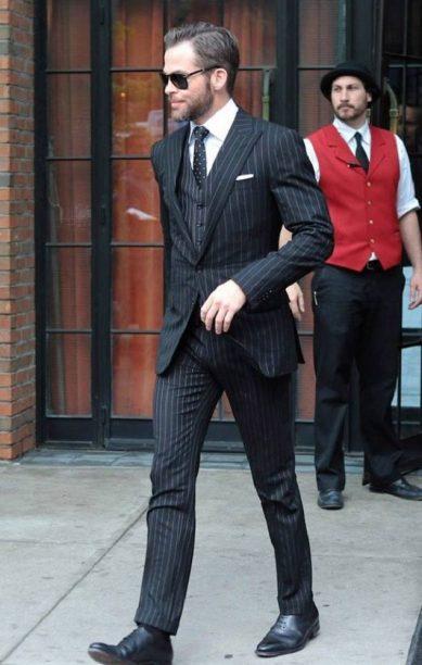 Chris-Pine-pinstripe-suit