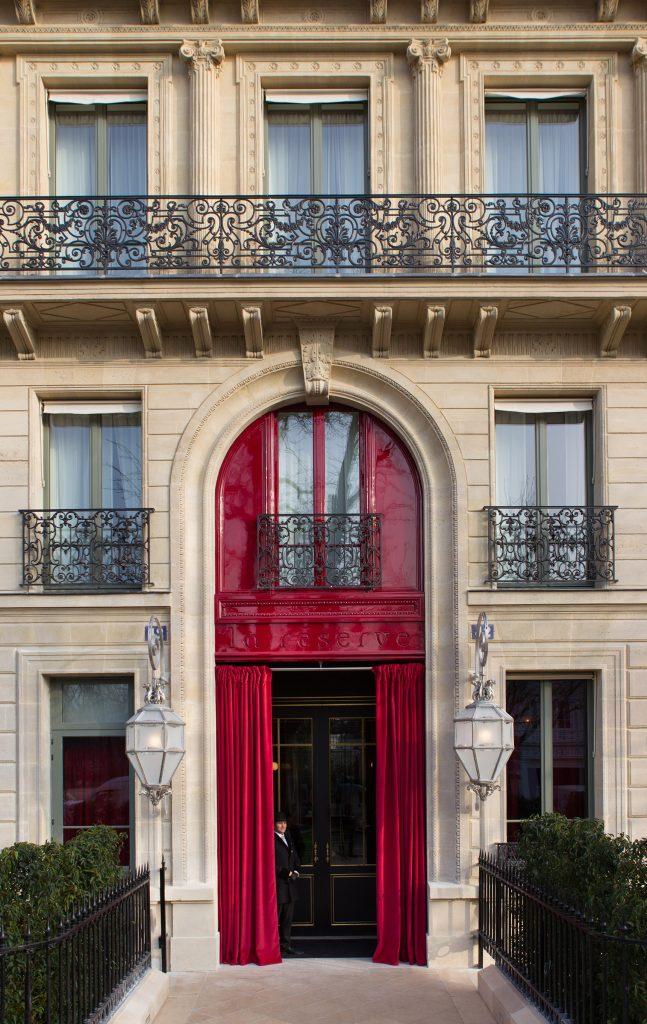 La Réserve Paris middle east travel