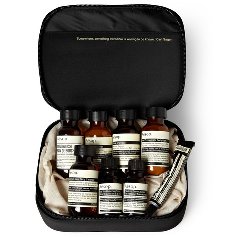 AESOP Boston Grooming Kit