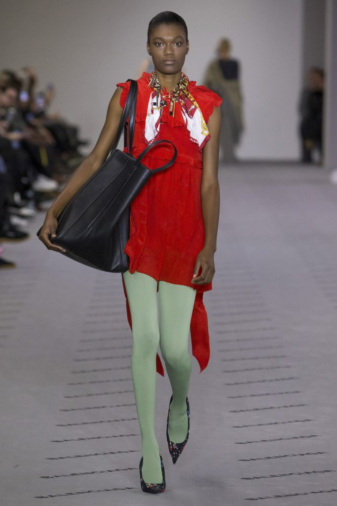 tights trend balenciaga