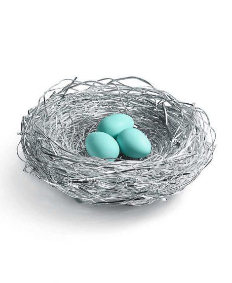 Birds Nest With Porcelain Eggs