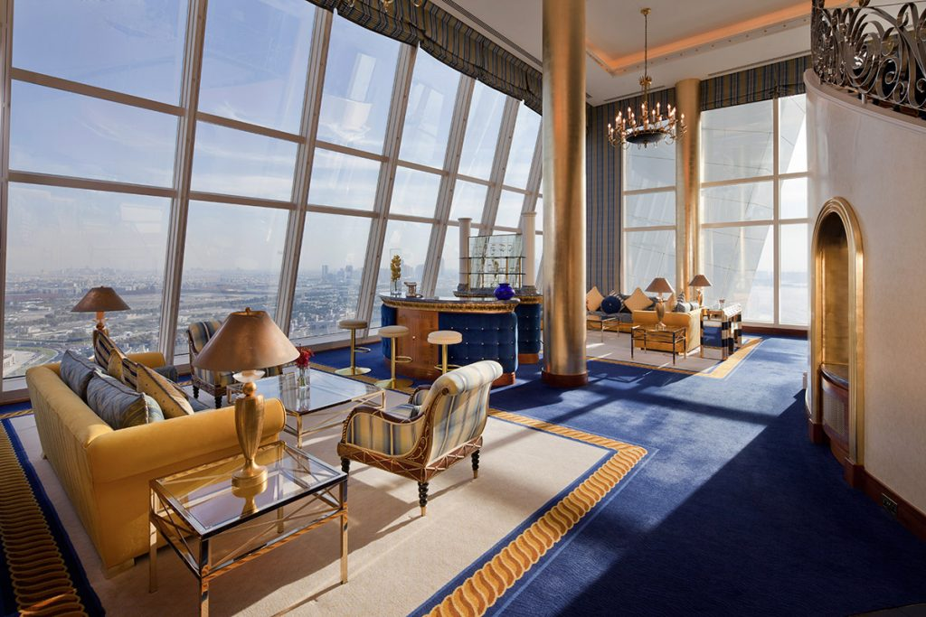 middle east hotel burj al arab