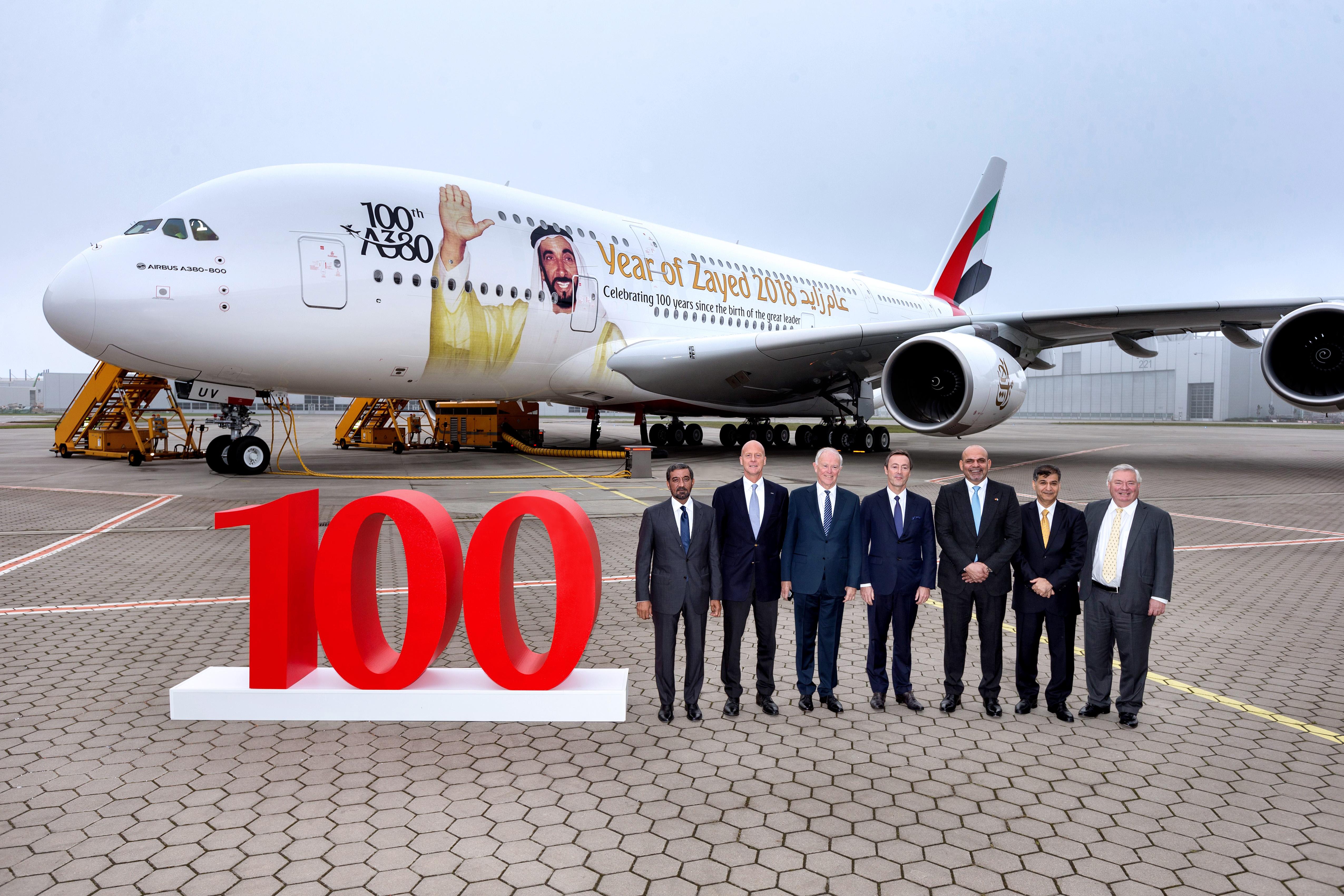 EMIRATES a380 HH Sheikh Zayed bin Sultan Al Nahyan