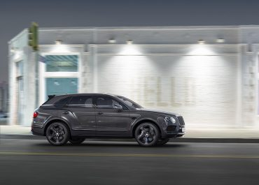 Bentley Bentayga Black Middle East