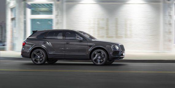 Bentley Bentayga Black Middle East