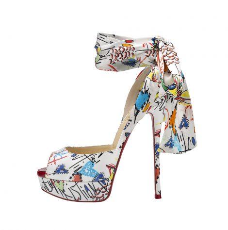 Jersey Vamp sandals