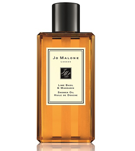 Jo Malone Lime Basil and Mandarin shower oil