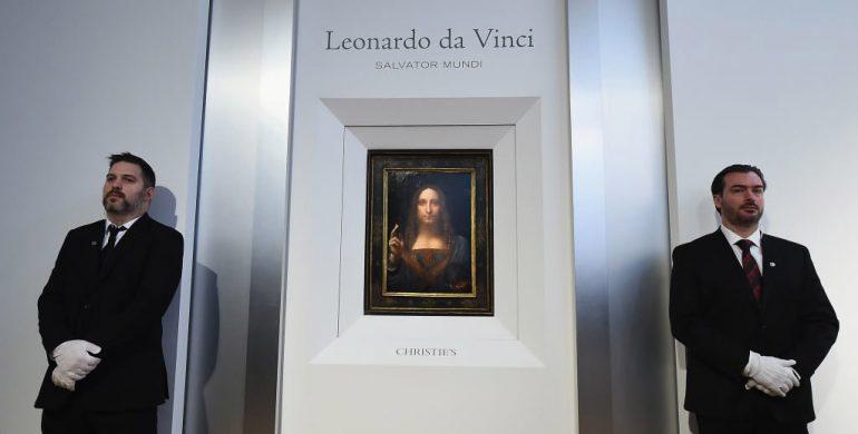 leanorado da Vinci's Salvator Mundi