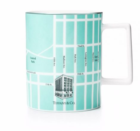 Manhattan Map Mug