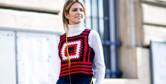 roll neck turtleneck street style trend