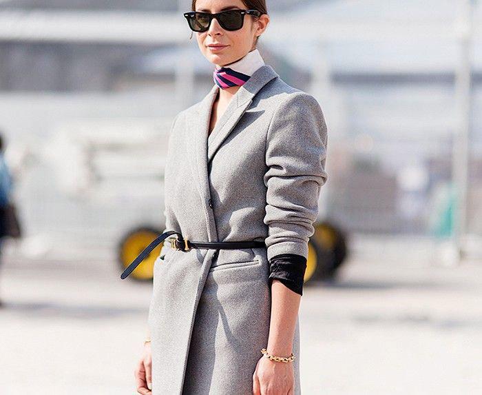 silk scarf trend