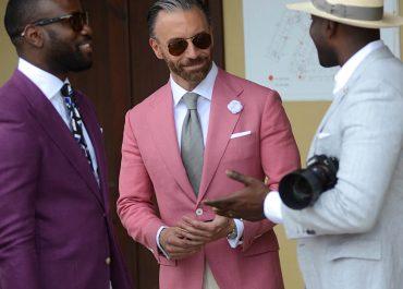 mens street style blazer