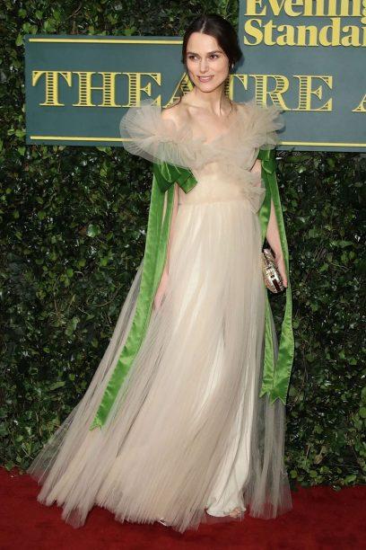 Keira Knightley wore Valentino