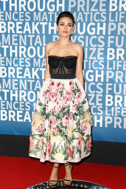 Mila Kunis Wore Dolce & Gabbana