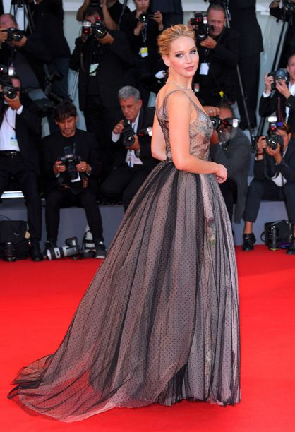 Jennifer Lawrence Wore Dior Couture