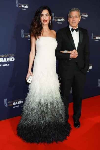 Amal Clooney Wore Atelier Versace