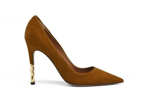 Brown pump