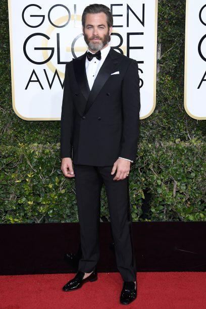 Chris Pine in Giorgio Armani