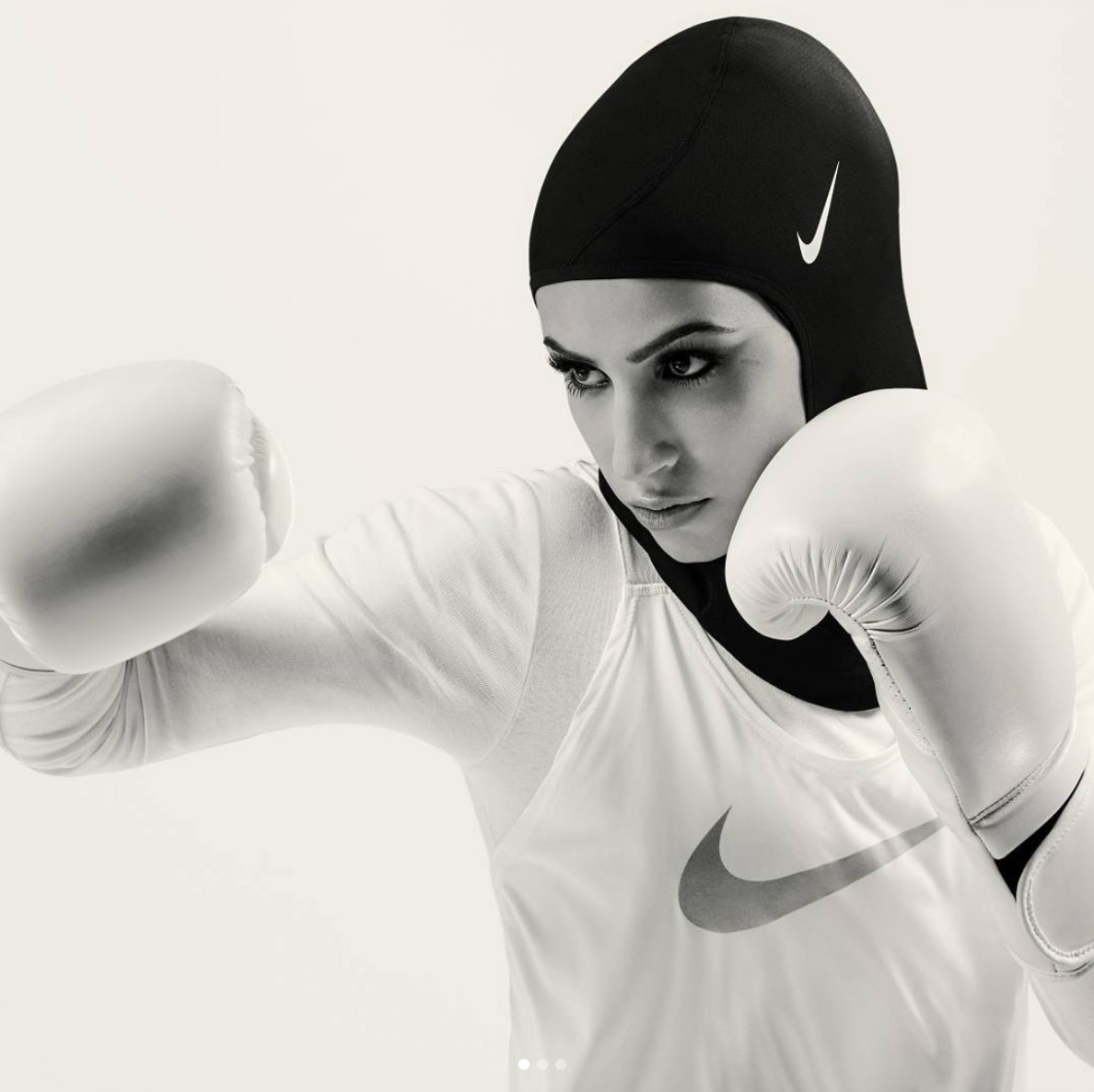 Nike was the first major international sportswear brand to launch a hijab.